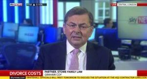 Graham Coy talks divorce costs on Sky News