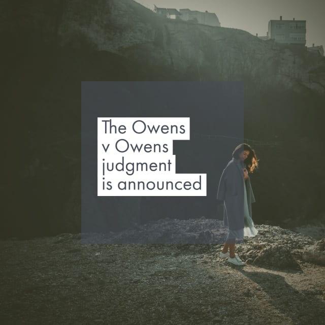 Owens Vs Owens No-Fault Divorce Rejected