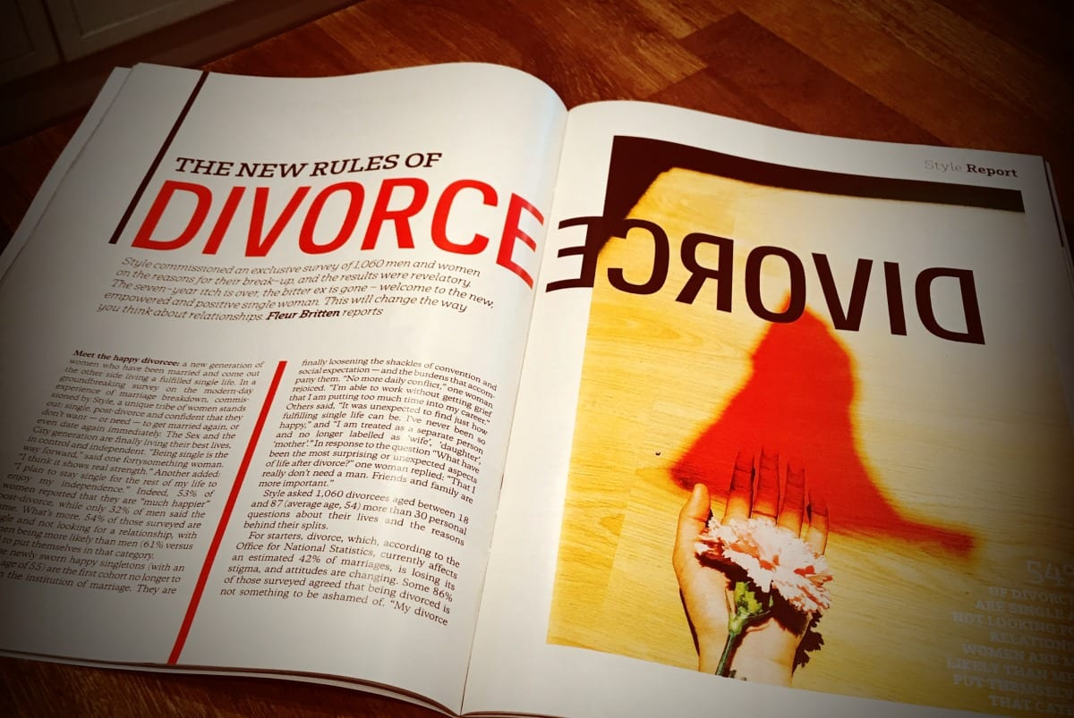 Divorcees, particularly women, can be happy - Stowe Family Law